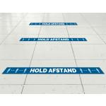 Hold afstand gulvfolie linje til vådrum og svømmehaller