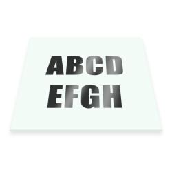 Selvklæbende bogstaver og tal