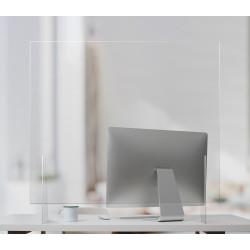Akryl- Plexiglas bordskærm til skrivebord