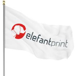 Logo - flag med tryk